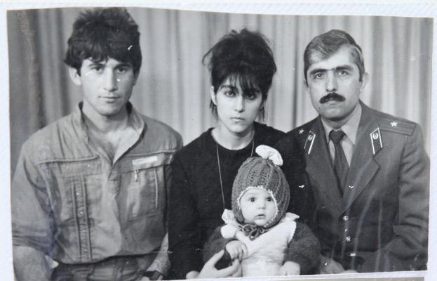 Reuters -Cortesía familia Suleimanova