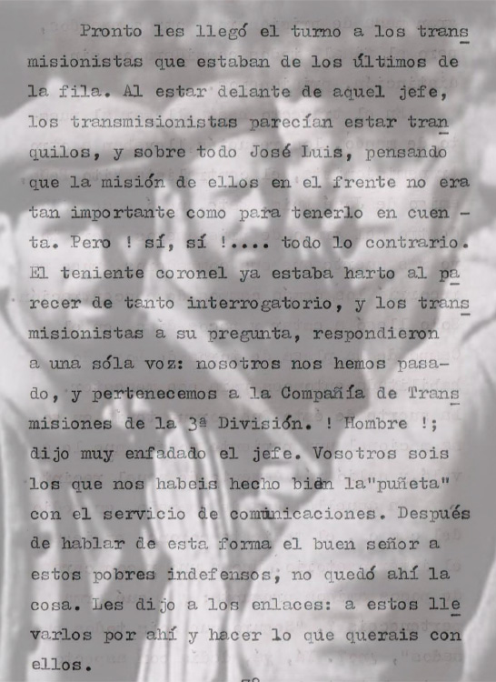 interrogatorio montaje